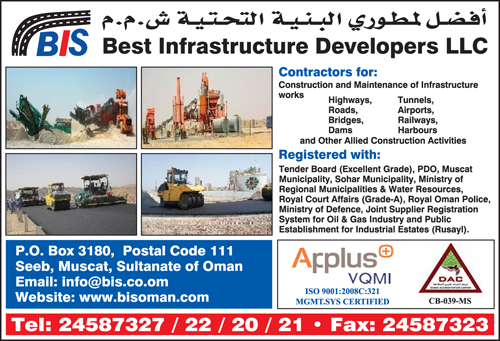 Best Infrastructure Developers LLC - Infopages Oman