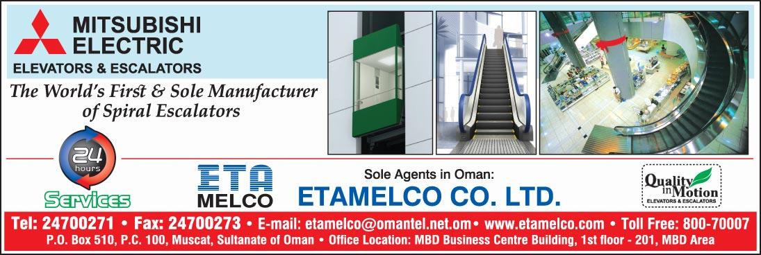 ETA MELCO Elevator Trading Co LLC - Infopages Oman