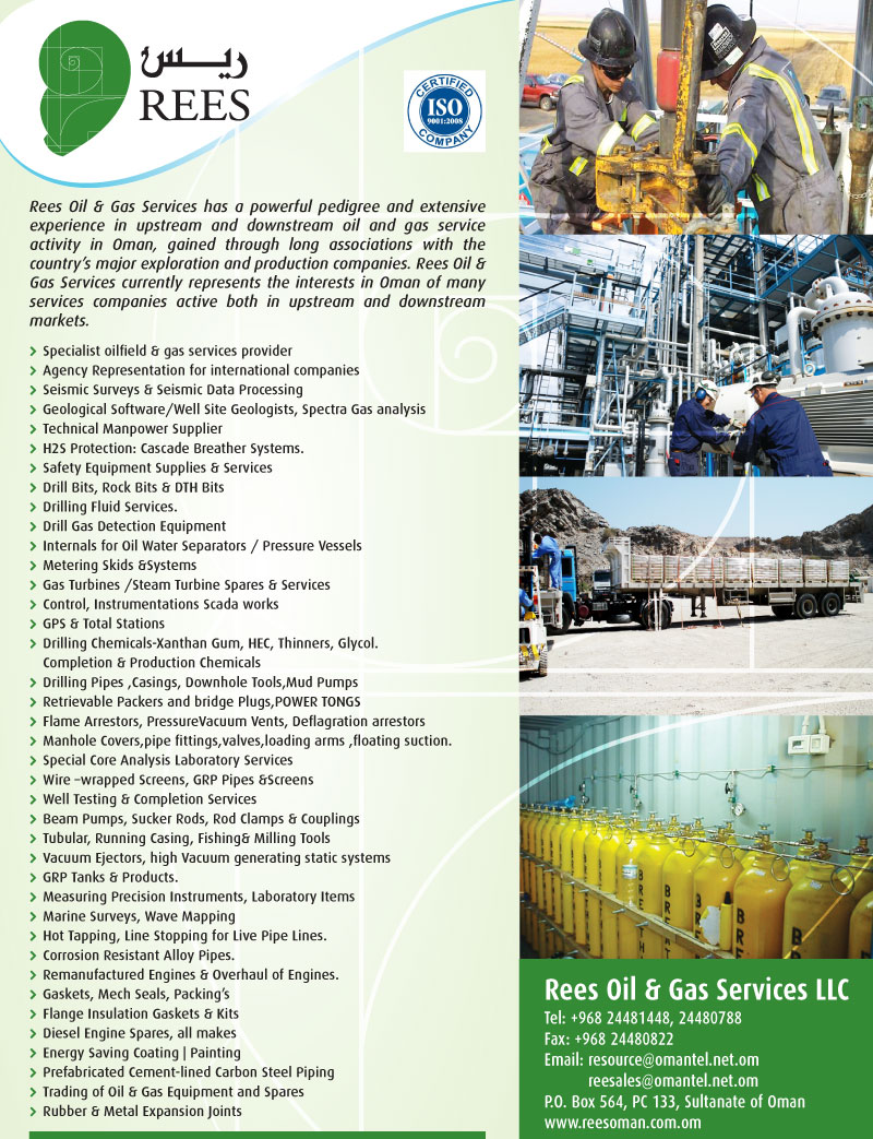 Rees Oil & Gas Services LLC - Infopages Oman